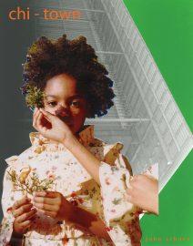 Hand Painted Black & White Photo, Black Girl & Hand Chicago Art Institute