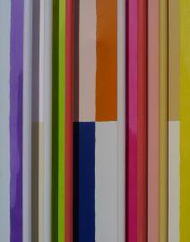 fluorescent lights Joseph Albers colored squares modern art minimalist art Dan Flavin Artist