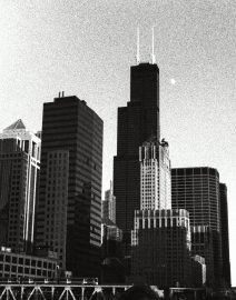 Chicago From River