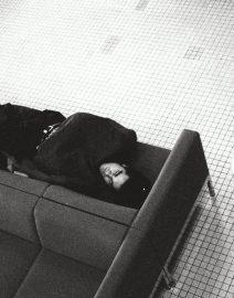 Chicago man sleeping at O'Hare 2